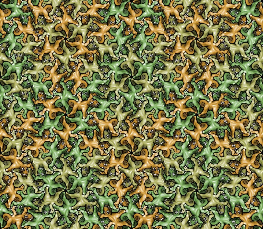 Tessellation artwork