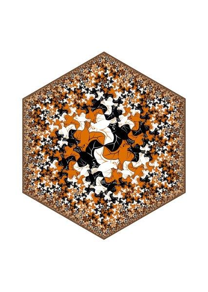 Hexagonal Limit - Bat Fractal